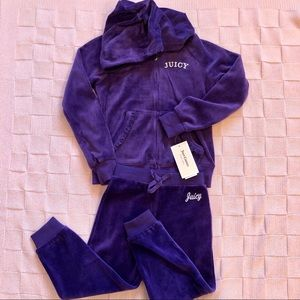New! Juicy Couture girls set! Size3T/ Size6
